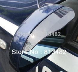 Wholesale 2 New Smart Flexible Plastic Car Rain Shield Rear View Side Mirror Rain Shield Shower Blocker Cover Sun Visor Shade Guard