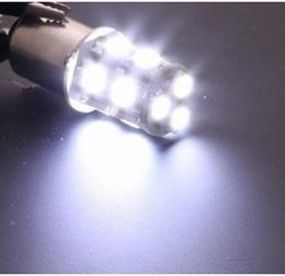 Hot! 50pcs lots 1156 1157 BA15S P21W 13 SMD 5050 13 LED 13led 13smd Brake Tail Turn Signal Light Bulb Lamp white Auto led Car bulb light 12V