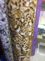 Wholesale 1 cm HIGH QUALITY air channel GERMANY material MIRROR FILM CHROME car vinyl wrapping film chrome film Leopard grain head