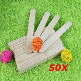 Wholesale Small Wood Spatulas Bikini Eyebrow Waxing SPA Applicator Wax Stick