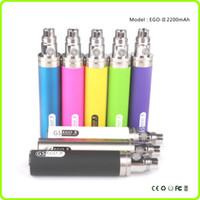 product - Hottest product ego mah battery GS Ego II Battery Huge Capacity KGO ONE WEEK Battery for Vaporizer Pen e cigarette EGO Atomizer