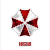 Wholesale New Hollow out reflective umbrella classic Ann brera biochemical crisis auto stickers motorcycle decoration N