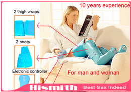 Wholesale Hot Air Pressure Massage Leg Slimming Thigh Foot Massager Air Leg Massager Boot Sock Slimley Full Body Massager for Woman