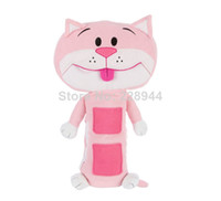 Wholesale plush Child seat pets and seat belt cover and Children Car seat belts pillow Purple Tan cat Car Seat Toy