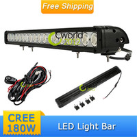 "Cheap 30"" 180W CREE LED WORK LIGHT BAR SPOT BEAM OFFROAD 4x4 ATV TRACTOR BOAT SUV TRUCK 4WD JEEP IP68 REFIT BACK UP RUNNING FOG LAMP"
