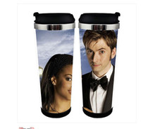 bbc tv - OP NEW Doctor Who BBC TV Double Insulation Mug Tardis Coffee Cup