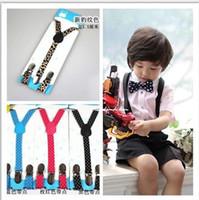 Wholesale 2014 New Children suspender clip private suspenders braces costume suspenders