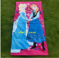 bathroom towel designs - 60 cm FROZEN Towel Design Frozen Elsa Anna OLAF Cotton Towels Bathroom Children Beach Towel Kids Bath Towel Frozen DHL