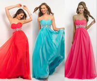 Reference Images Elastic Satin Sexy Cheap Real Images In Stock Sweetheart Prom Party Dresses Lime Fuchsia Green Red Yellow Blue Chiffon Bridesmaid Evening Gowns 2014 Under $100