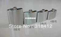 Wholesale OP ounce stainless steel hip flask portable small hip flask original metal wine bottle