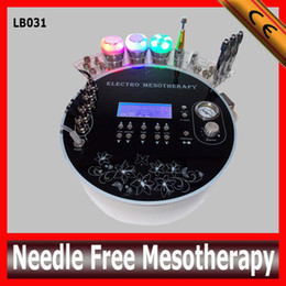 Wholesale Beauty Equipment of in Multifunction needle free mesotherapy facial machine and microdermabrasion machine for skin cleaning Rejuvenation