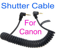 Cheap Drop shipping!2.5mm Camera Remote shutter Cable 1C for Canon 70D 60D 650D 600D 550D 500D 450D 400D 350D 1000D
