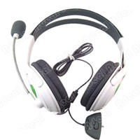 Wholesale 2014 Fashion Headset Headphone Microphone Fop XBOX LIVE XBOX360