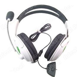 Wholesale 2014 Fashion Headset Headphone Microphone Fop XBOX LIVE XBOX360