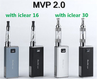 Single Electronic Cigarette Set Series Innokin itaste mvp 2.0 2600mah battery Variable Voltage with iclear 16 iclear 30 atomizer mvp starter kits mvp2.0 mod 4colors available
