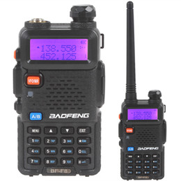 Wholesale 2015 hot sale BAOFENG BF F8 Dual Band Walkie Talkie VHF UHF MHz MHz Ham two way Radio SEC_035