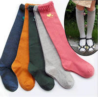 Cheap hot autumn girl huf socks cotton lace princess socks Cute animals hosiery for female treasure children child leggings socks