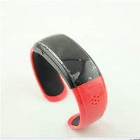 Wholesale good quality BT988 Smartwatch Smart Alert Bluetooth Bracelet Buzz Alarm Call For Iphone for HTC Smartphones Wristwatch Colorful