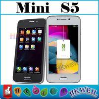 HTM H9006 Mini S5 Quad Core Cell Phones Dual Sim Card Dual C...
