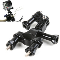 Wholesale For GoPro Mount Accessories Bike Holder Adapter Set Handlebar For GoPro camera hero hd Black Edition New