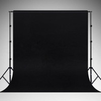 Wholesale NEW Photography Studio Backdrop Black Muslin For Stand Softbox Umbrella
