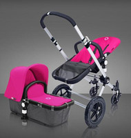 Wholesale 2014 Lastest New Baby Carrier Stroller More Safety And Lowest Price Oxford D Cloth Bugaboo Cameleon Stroller Retail