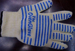 Wholesale High quality Oven glove ove glove as hot surface handler amazing home gloves with retail box