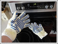Wholesale DHL High quality Oven glove ove glove as hot surface handler amazing home gloves with retail box