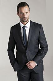 New 2019 Design Cheap Tuxedos Man Suit Slim Fit Groomsman Bridegroom Suits (Jacket+Pants+Tie+Vest) QH107