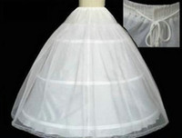 New Coming 2015 Vintage White Wedding Bridal Gown Petticoat ...