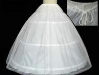New Coming 2015 Vintage White Ivory Wedding Bridal Petticoat...