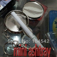 Wholesale OP new pieces Stash Security Diversion hide Pocket Secret Safe Pill Case keychain and mini ashtray
