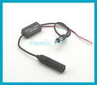Wholesale 88 MHz Car Antenna Radio FM Signal Amp Digital TV dB Amplifier Booster