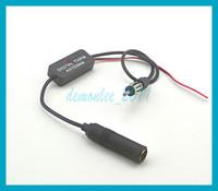 Precio de Car antenna amplifier-El amplificador del amplificador del amplificador 12-13dB de la señal de la radio FM de la antena del coche de 88-108MHz libera el envío