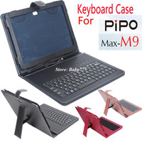 Cheap keyboard cases cover for pipo m9 pro tablet pc accessories 10.1 inch keyboard stand the cases covers new products hot sale