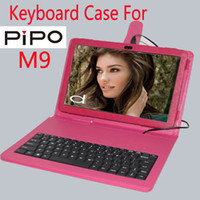Cheap New keyboard case for Pipo m9 original leather case for 10.1 inch Pipo M9 3G tablet pc