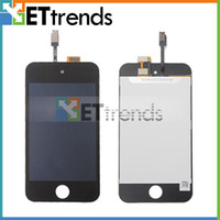 best enterprise - For iPod Touch LCD Display Digitizer Touch Screen Glass Assembly Black White enterprise Best Quality AA0085