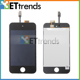 Wholesale For iPod Touch LCD Display Digitizer Touch Screen Glass Assembly Black White enterprise Best Quality AA0085