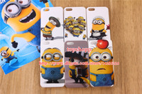 Wholesale Cartoon Despicable Me2 Cute Minion Minions Me Soft TPU Silicon Case Cover for iPhone S G G S C iPhone4 iPhone5