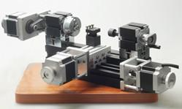 Wholesale wood Lathe Machine Horizontal Mini CNC Lathe Machine for Education Tools CZ20002MH