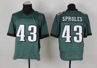 Cheap Darren Sproles Jersey Green #43 Elite Jersey 2014-15 New Season American Football Jerseys High Quality Cheap Stitched Jerseys Top for Sale