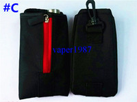 electronic cigarette case Black Cloth NEW Mechanical Mod Vape e-cig ecig e-juice Carrying Case Pouch Holder Holster