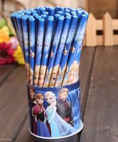 office stationery set - sets frozen stationery frozen pencil with eraser kawaii papelaria set For Kids children stationery set