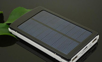 Wholesale Top selling Solar Charger Power Bank mAh New Portable Charger Solar Battery External Battery Charger Powerbank