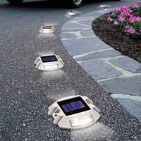 IP65 aluminum road studs - Solar Road Stud powered by sunlight solar aluminum casting spike LED traffic light