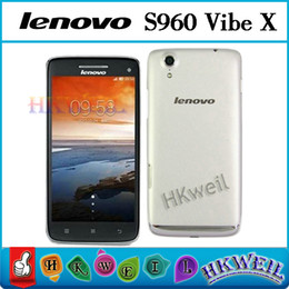 Wholesale Lenovo S960 VIBE X MTK6589T Quad Core GHZ Android Cell Phone G RAM G ROM With Inch IPS FHD Screen MP G GPS Phones