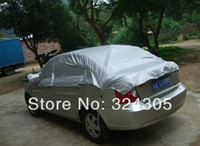 Wholesale 1x Summer need f Car sunshade car sun protection cover For the sun umbrella silver