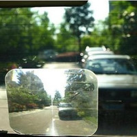 Wholesale Transparent large outlook car side mirror auxiliary mirror reverse film rear view mirror car parking stickers