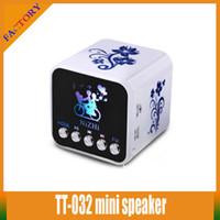 Wholesale Portable Multimedia Speaker NiZHi TT B Mini Speaker With LED Light LCD Screen Pristine Sound mini portable speaker for mobilephone cell