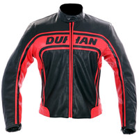 Wholesale New Moto GP motorcycle DUHAN Racing Leather Jacket size M to XXL
